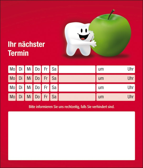 Denti mit Apfel