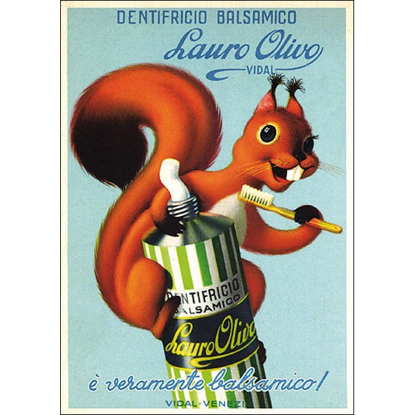 Vintage - Eichhörnchen