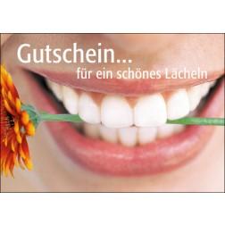 Set Gutschein Mund mit Blume