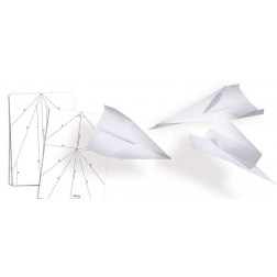 Bastel-Block für 50 Papierflieger