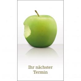 Apfel (Termin-Klappkarte)