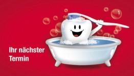Denti in der Badewanne
