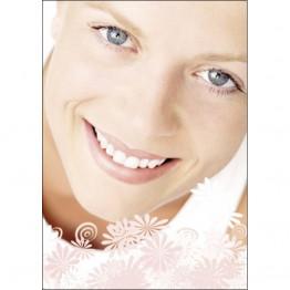 Frau mit Lächeln