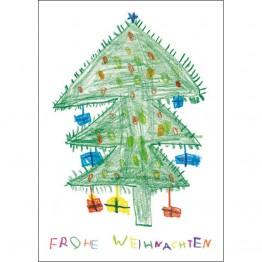 Frohe Weihnachten (Baum)