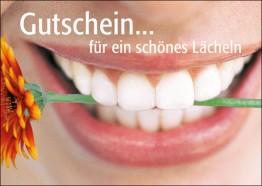 Gutschein Mund mit Blume