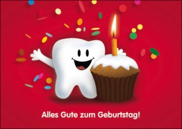 Denti Geburtstagskarte