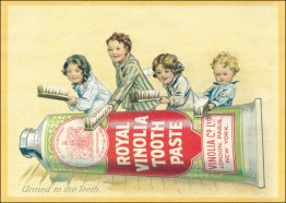 Vintage - Zahnpastatube