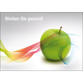 Apfel mit Band