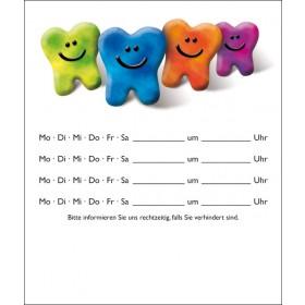 Bunte Zähne